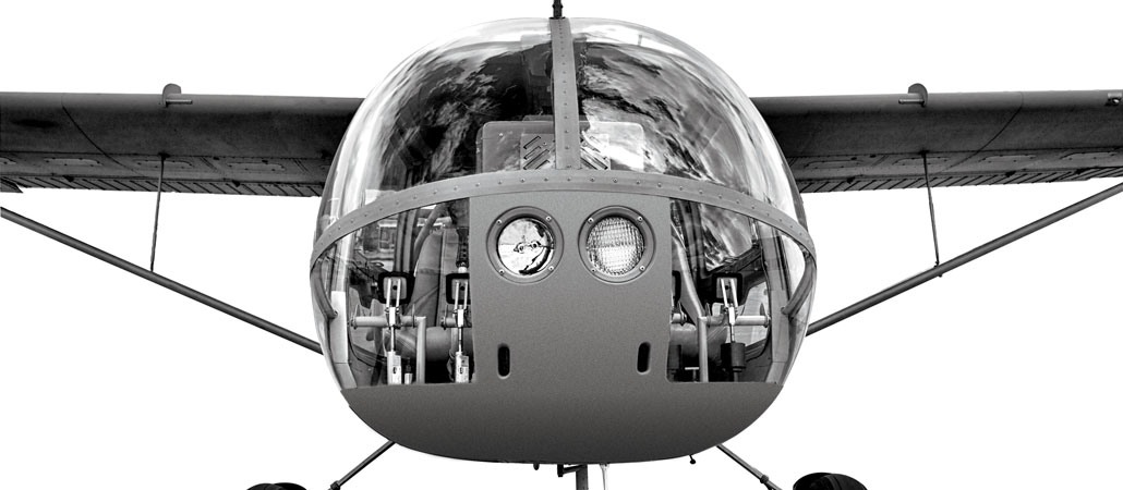 seeker aircraft light observation aircraft police surveillance